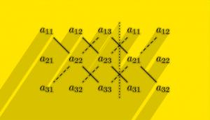 دترمینان یک ماتریس و محاسبه آن — به زبان ساده (+ دانلود فیلم آموزش گام به گام)