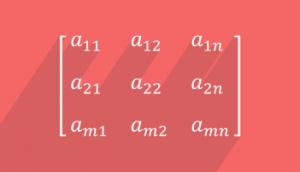 ماتریسها در ریاضی — به زبان ساده (+ دانلود فیلم آموزش گام به گام)