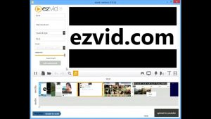 Ezvid Video Maker ضبط ویدئو