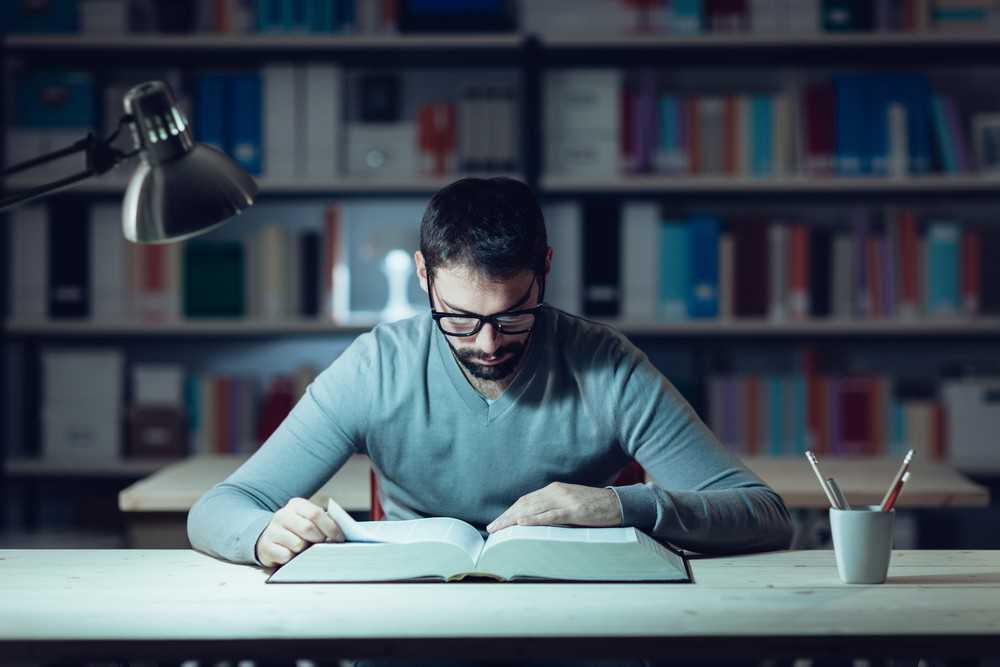 سه قدم فاصله تا مطالعهی منظم