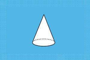 مخروط چیست ؟ | تعریف، شکل، مفاهیم و فرمول ها + فیلم آموزش رایگان