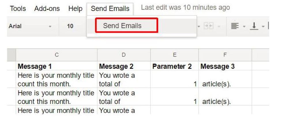 چگونه با گوگل اسکریپت، ایمیل بفرستیم؟