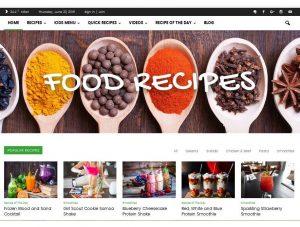 بهترین قالبهای نمایش وردپرس برای وبسایتهای آشپزی — بخش اول