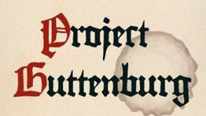 دانلود هزاران کتاب رایگان در پروژه گوتنبرگ