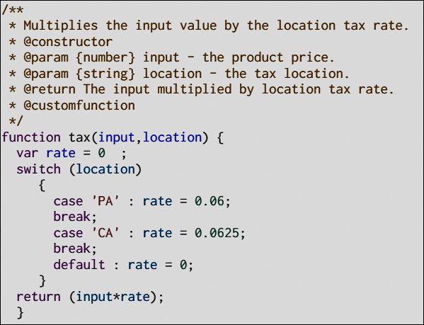 ساخت مستند برای کد