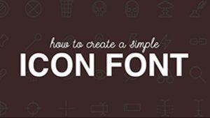 کاربرد فونت آیکون در طراحی وب