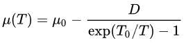 فرمول مدول برشی
