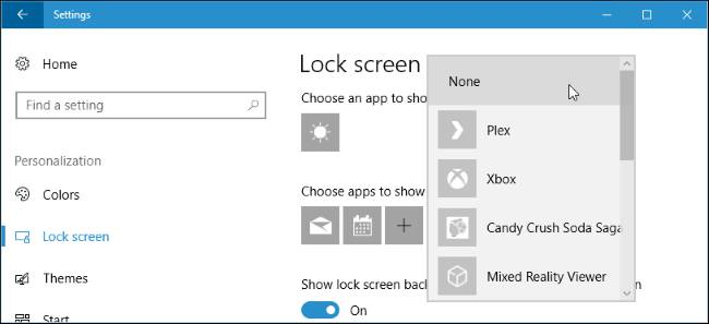 غیر فعال کردن اعلانها در Lock Screen