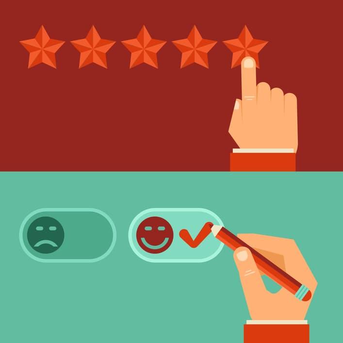 تحلیل نقد و بررسیهای آنلاین یکی از کاربردهای عقیدهکاوی است.