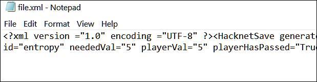 مشاهدهی فایل XML در Notepad