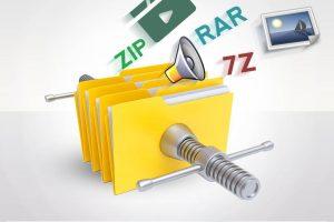 استخراج فایل از آرشیوهای مرسوم RAR ،۷z و ZIP (+ دانلود فیلم آموزش گام به گام)
