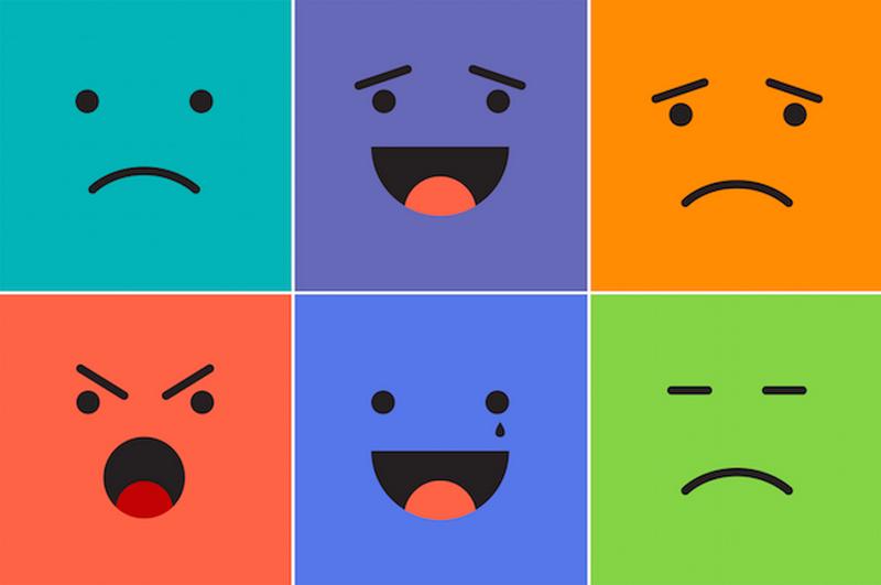 عواطف و احساسات گوناگون