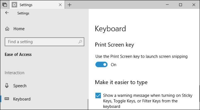 استفاده از کلید Print Screen