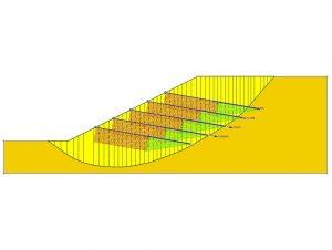تحلیل پایداری شیب با استفاده از روش های تعادل حدی (Limit Equilibrium Methods)