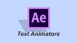 کار با Text Animators برای ایجاد انیمیشن روی متون در افتر افکت — آموزک [ویدیوی آموزشی]
