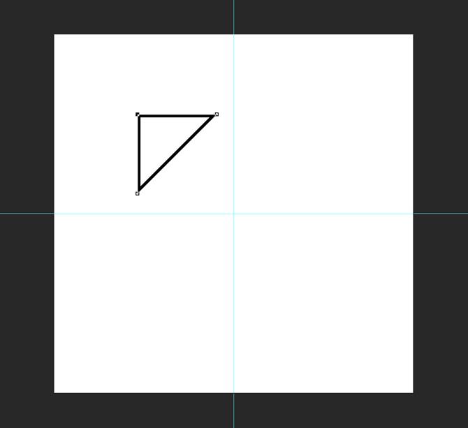 طراحی مثلث