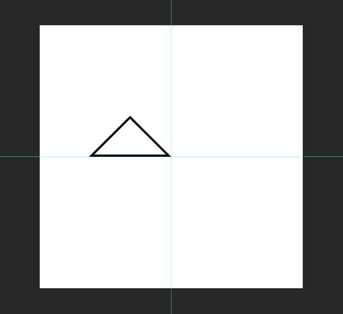 تغییر اندازهی مثلث