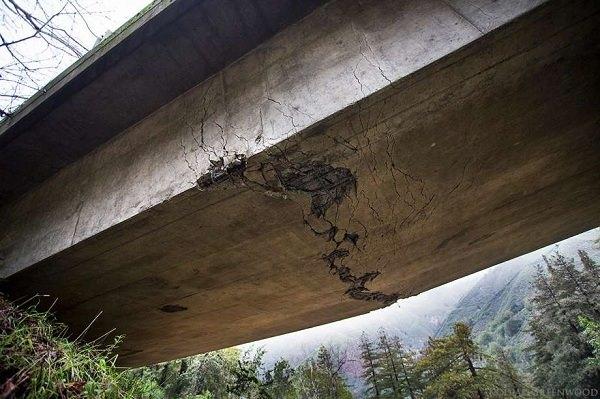 پلی در آستانه شکست