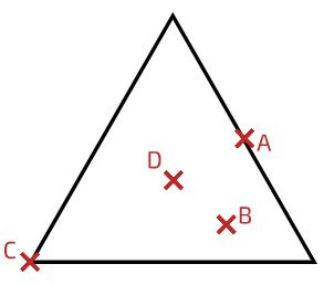 مرکز جرم مثلث