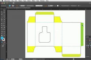 طراحی بسته بندی در ایلاستریتور و InDesign – آموزش گام به گام