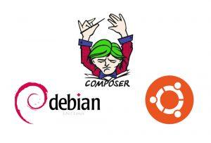 نصب و استفاده از کامپوزر (Composer) روی دبیان ۹ و اوبونتو ۱۸.۰۴ — راهنمای جامع