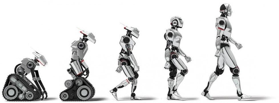 تکامل رباتیک