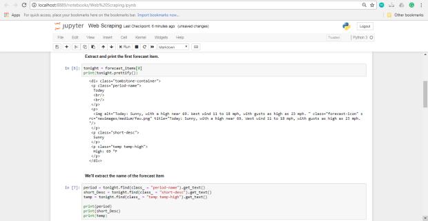 استخراج دادههای وب در پایتون