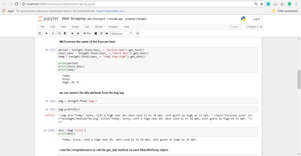 استخراج دادههای وب با استفاده از پایتون