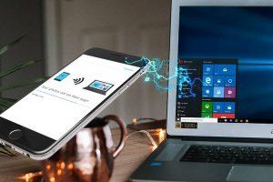 انتقال بی سیم داده ها بین تلفن همراه و ویندوز — راهنمای جامع