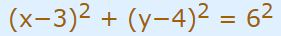 Circle-equation