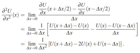 تقریب تفاضل محدود برای مشتقهای مراتب بالاتر