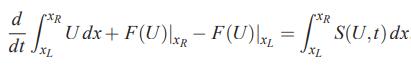 فرم انتگرالی معادله بقا