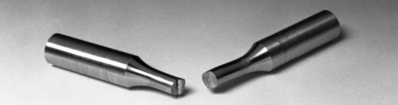 رخ دادن شکست خستگی در یک میله تحت بارگذاری تکراری (از نوع کششی).