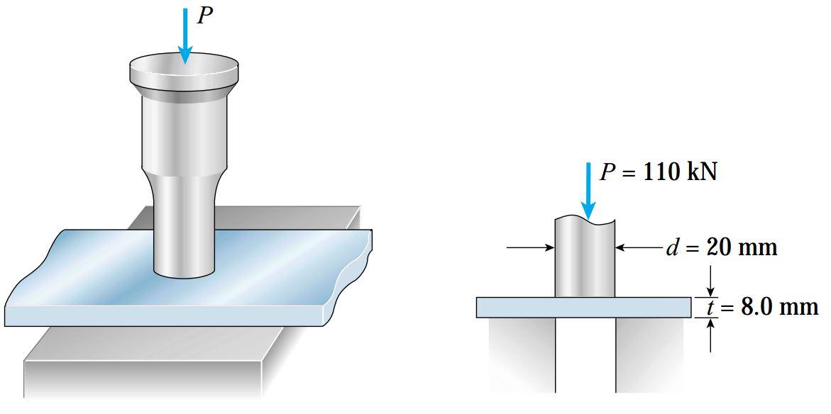 ایجاد حفره درون یک صفحه فولادی