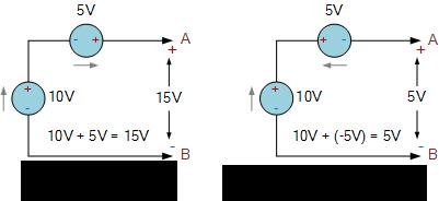 منبع ولتاژ سری