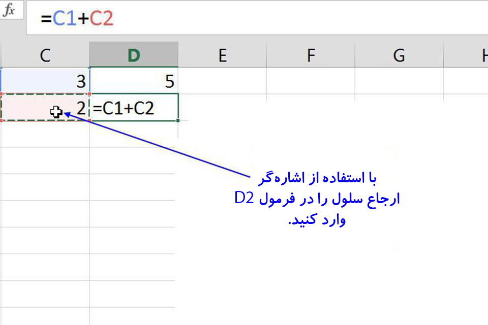 مقدمات فرمولنویسی در اکسل