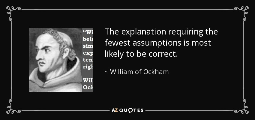 quote-the-explanation-requiring-the-fewest-assumptions-is-most-likely-to-be-correct-william-of-ockham-67-29-12