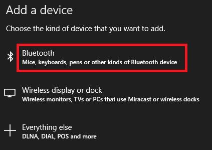 راهاندازی بلوتوث در ویندوز 10