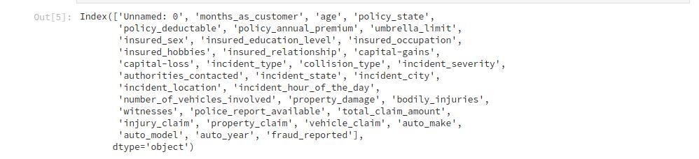 مجموعه داده شرکت بیمه
