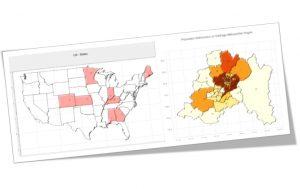 ترسیم داده های جغرافیایی در پایتون — راهنمای جامع