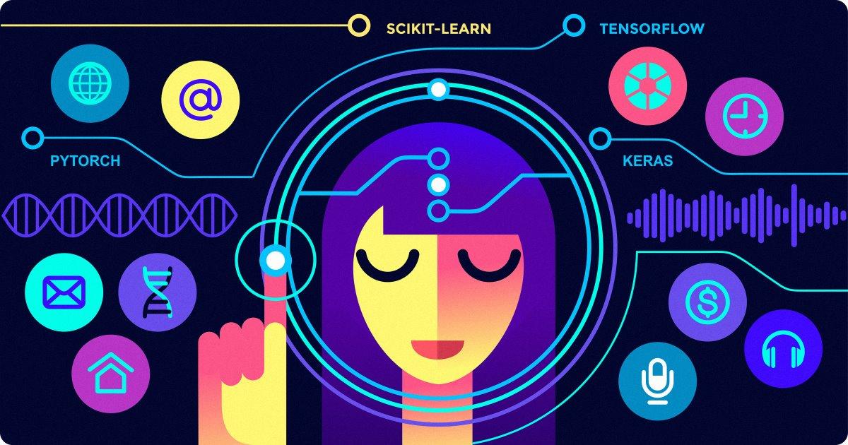 ۸ کتابخانه یادگیری ماشین پایتون  — راهنمای کاربردی