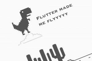 کدنویسی بازی مشهور T-Rex با فلاتر و Flame — به زبان ساده