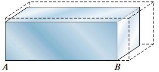 بلوکی از ماده که در معرض افزایش دما قرار گرفته است.