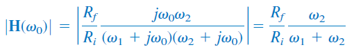 اندازه تابع تبدیل