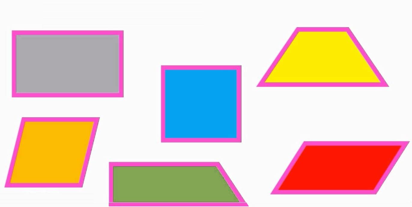 چهار ضلعی ها — به زبان ساده