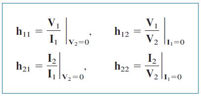 تعیین پارامترهای هیبرید