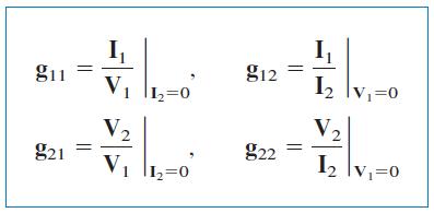 محاسبه پارامتر g
