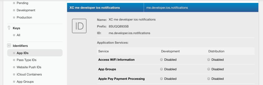 App ID