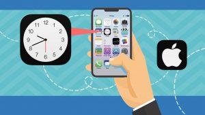کار با اپلیکیشن Clock در گوشی های آیفون – آموزک [ویدیوی آموزشی]