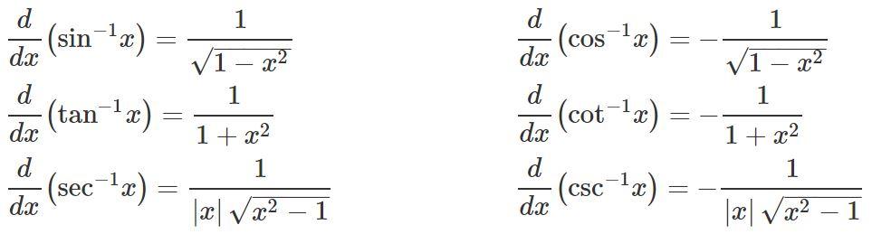 Inverse-trig-function